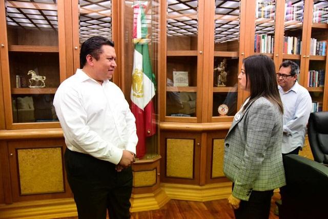 Piden sindicalizados a Claudia Rivera negar el regreso a Pacheco
