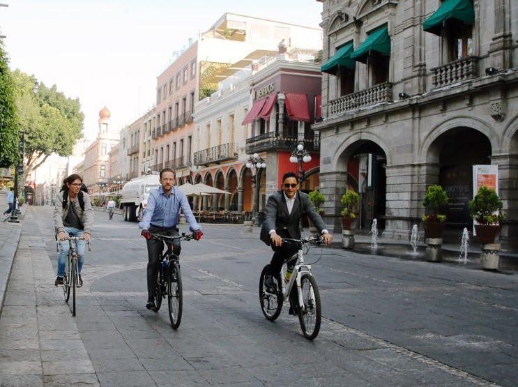 Ayuntamiento de Puebla lleva a cabo el Día Poblano sin Coche