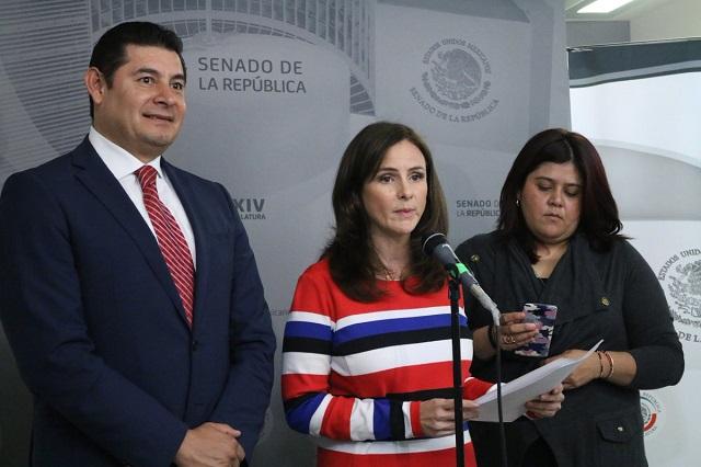 Consejeros y magistrados de Puebla se niegan a ir al Senado