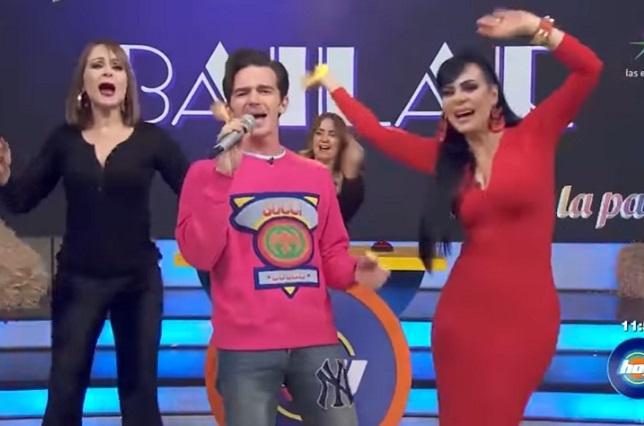 Drake Bell pone a bailar a todos en Hoy con La Bamba