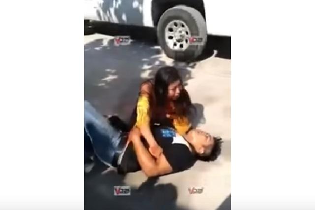 ¿Amantes?, videos, patadas, gritos, sangre… drama en motel