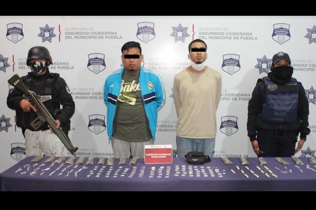 Aseguran más de 150 dosis de droga en San Baltazar Campeche