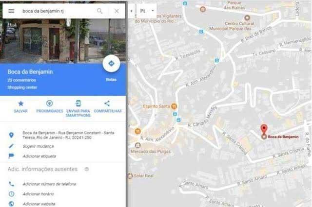 Google Maps por error enseña lugar donde se venden drogas en Brasil