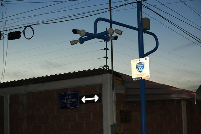Con cámaras, alarmas y drones refuerzan seguridad en la capital