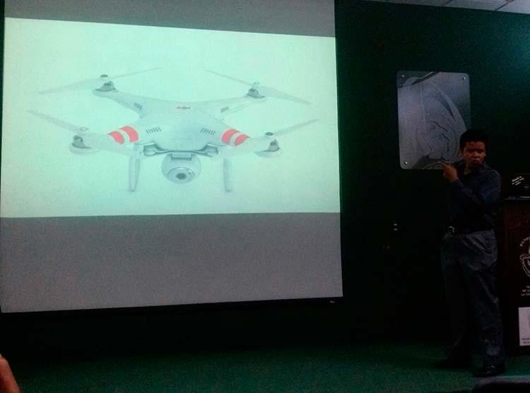 Planean difundir ciencia con drones y abaratar su costo