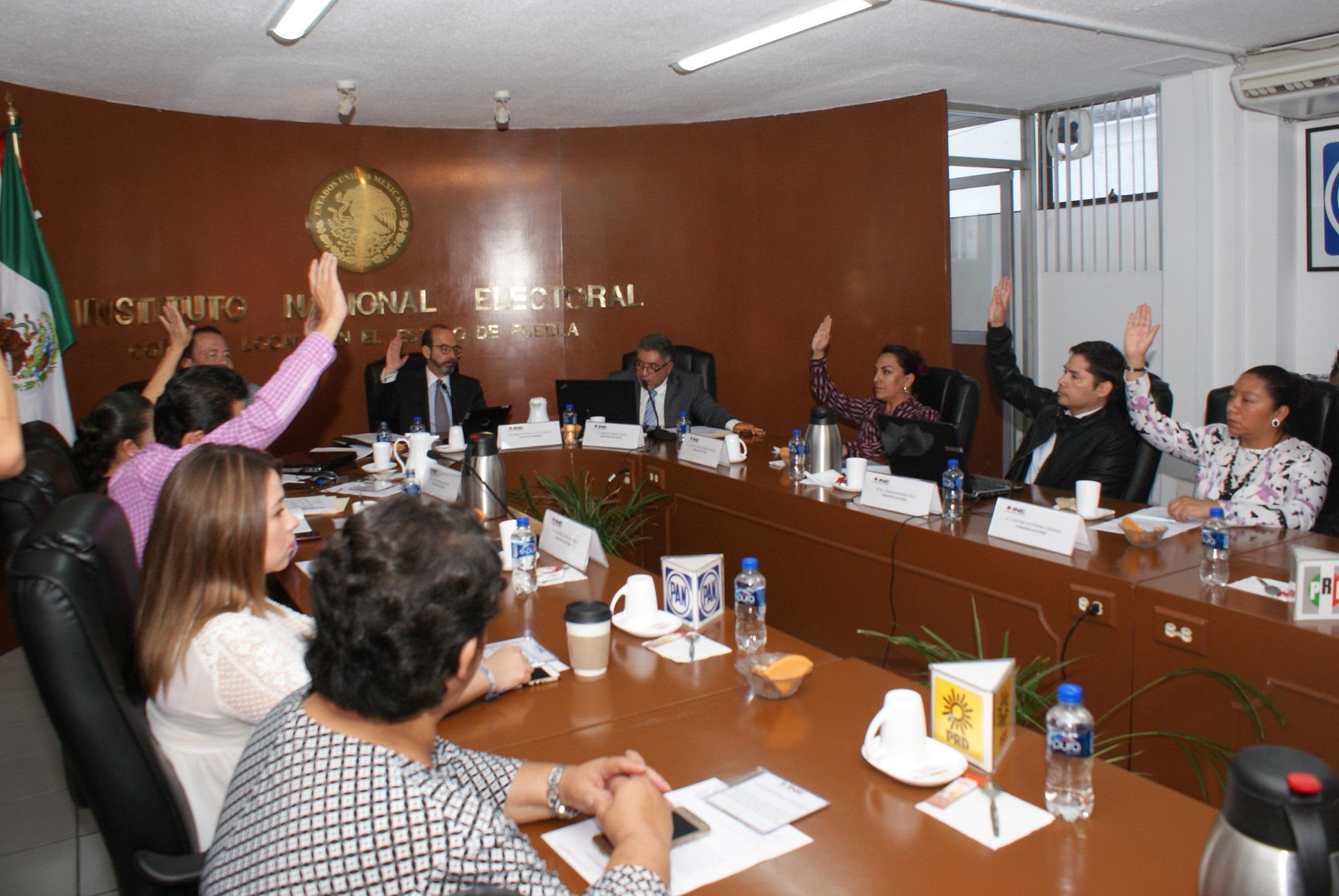 Entrega de nombramientos y paquetes electorales va según lo previsto: INE