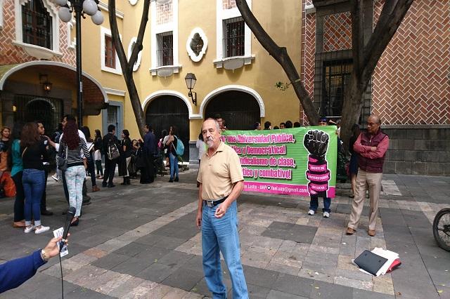 Eudoxio Morales denuncia amenazas por criticar reelección en la BUAP