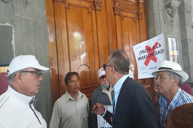Red de vecinos exige al edil Banck transparentar estadísticas de delitos