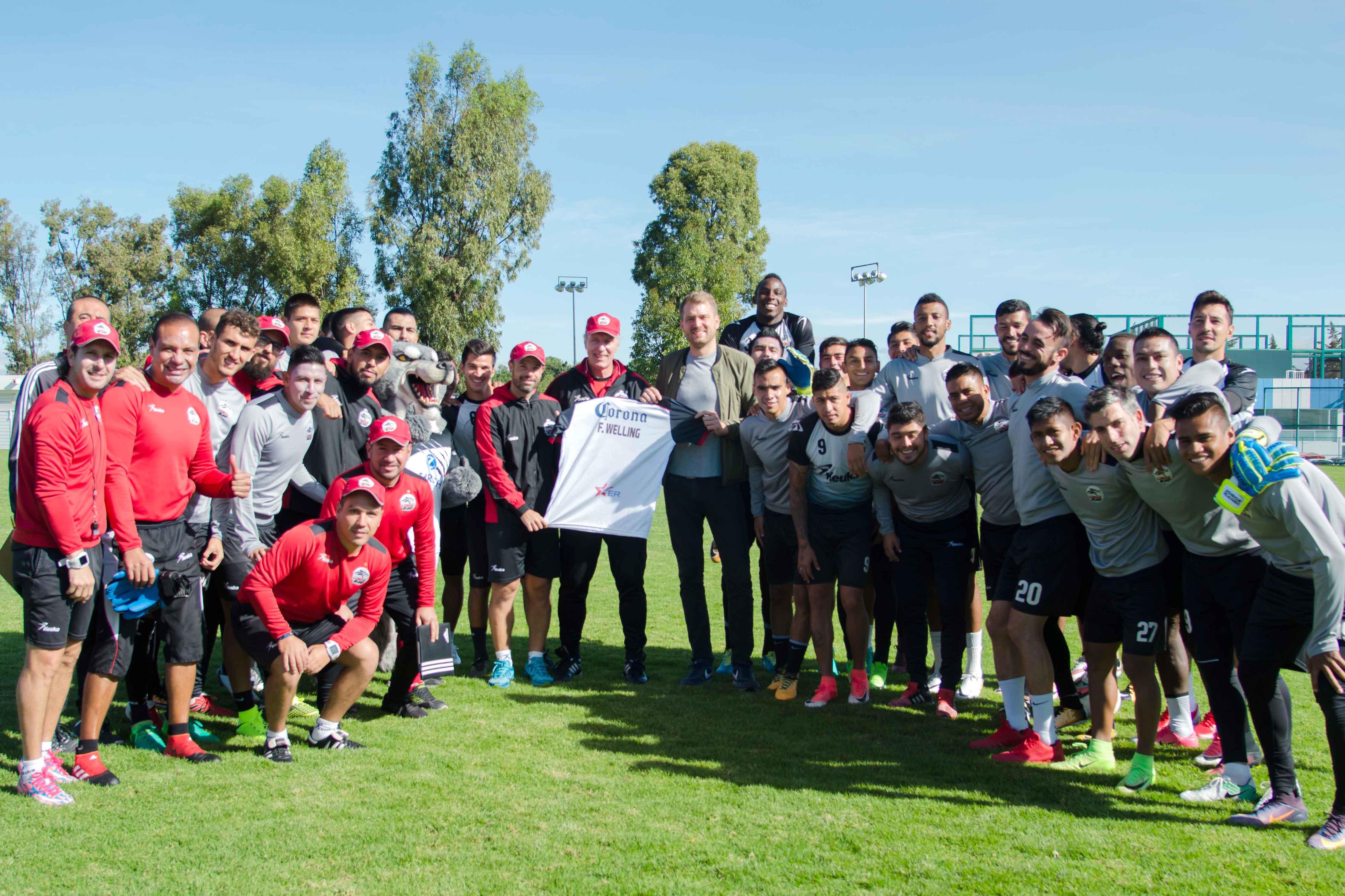 Lobos y Wolfsburg unen fuerzas para el crecimiento deportivo