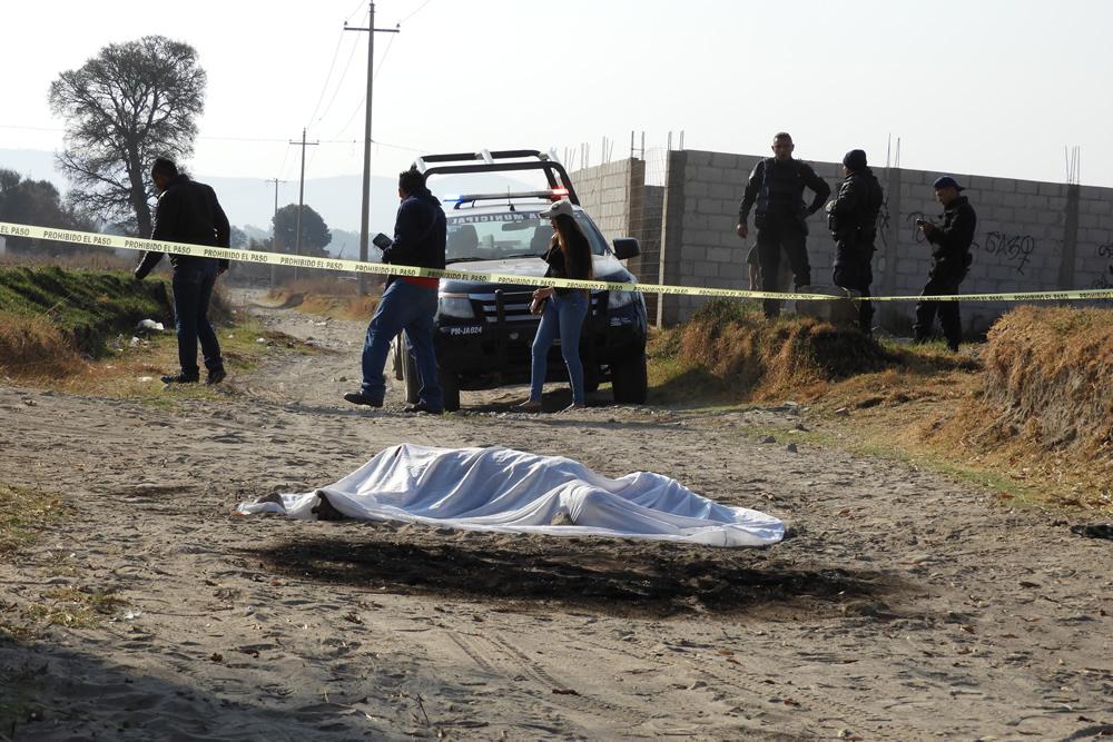 Hallan cadáver calcinado en comunidad de Palmar de Bravo