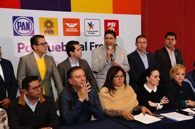 Líderes del Frente exigen salida de José Juan en la Mesa Directiva