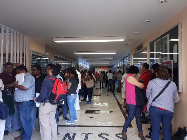Acusan trabas para inscribir planillas a delegados del SNTS en Puebla