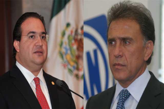Javier Duarte denuncia a Yunes por enriquecimiento ilícito