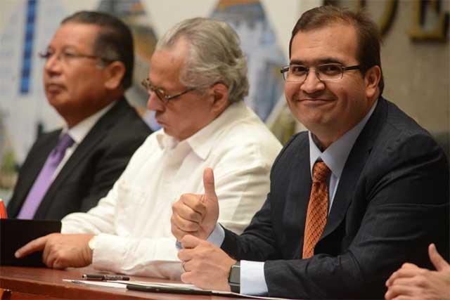 Llega al Congreso supuesta solicitud de Duarte para regresar a la gubernatura