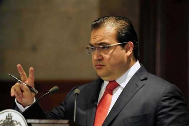 Javier Duarte le pone fin a su licencia y quiere regresar a gobernar