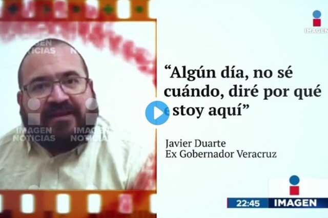 Duarte dice en buen jarocho que se aguanta para no mentarle la madre a Yunes