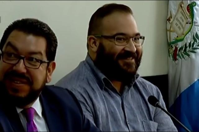 Abogado desmiente que Javier Duarte esté a punto de salir de la cárcel