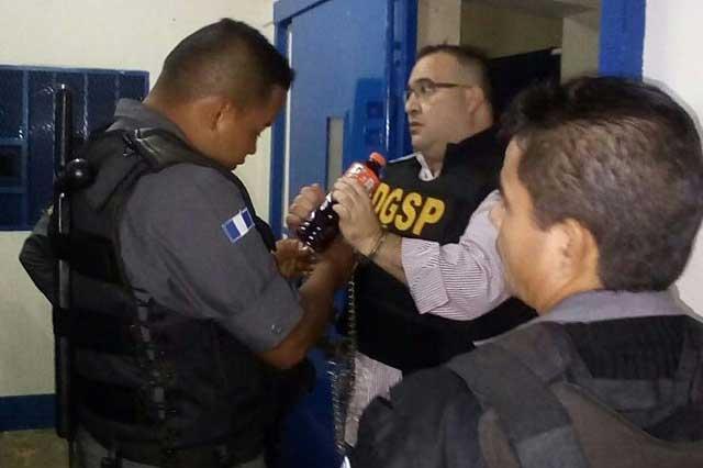 Javier Duarte espera su extradición en un hangar militar de Guatemala