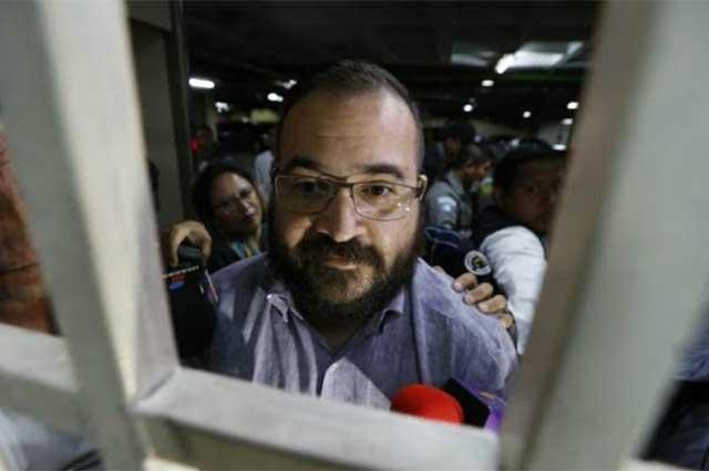 Descarta la PGR que Javier Duarte vaya a enfrentar su proceso en libertad