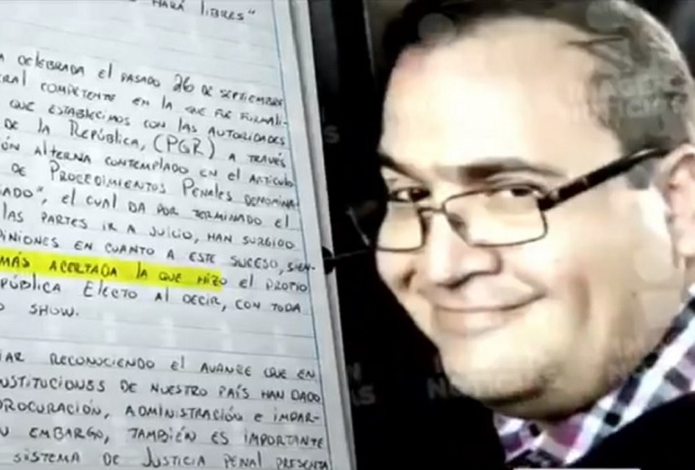 Javier Duarte califica de Guasón político a Miguel Ángel Yunes