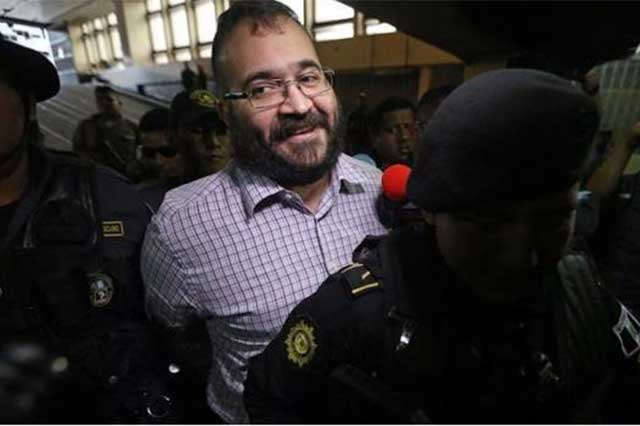 Guatemala ya inició los trámites para extraditar a Javier Duarte