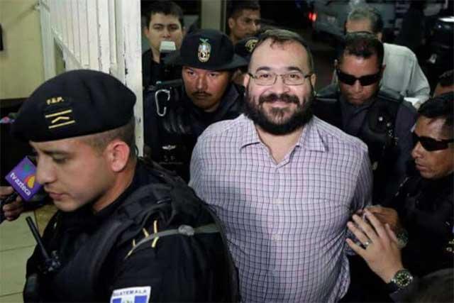 Difunden que Guatemala extraditará hoy a Javier Duarte