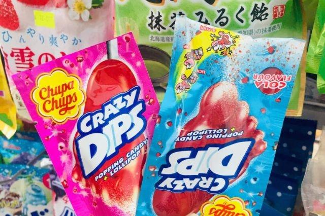 ¿Sabes de qué está hecho el polvito de los dulces Trueno pop y Crazy dips?