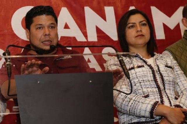 Biestro exige comparezca Claudia Rivera; ignora leyes, le responde