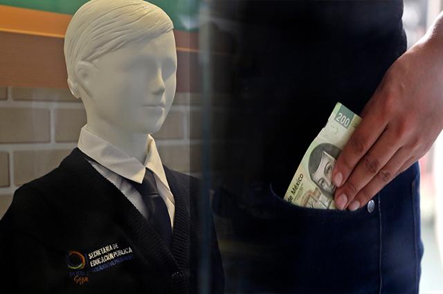 Duplica Puebla gasto para regalar uniformes y zapatos escolares