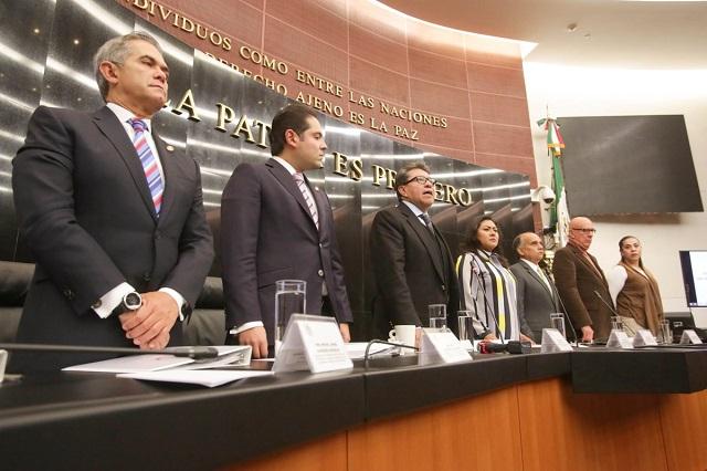 Instala Senado Comisión por muertes de Martha Erika y RMV