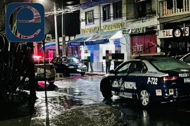 Asesinan a proveedor en asalto a farmacia de San Pedro Cholula