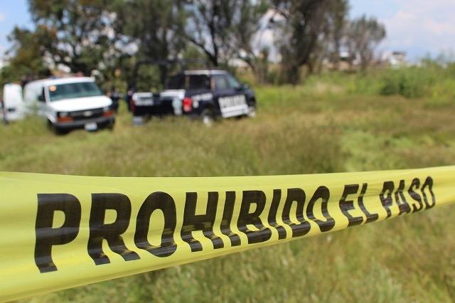 Hallan restos óseos en barranca de Santa Rita Tlahuapan