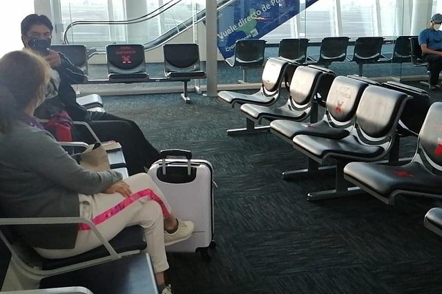 Perdió Aeropuerto de Puebla 85% de usuarios por la pandemia