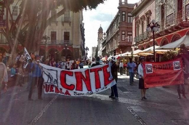 Maestros de la CNTE competirán en elección sindical del SNTE, anuncian