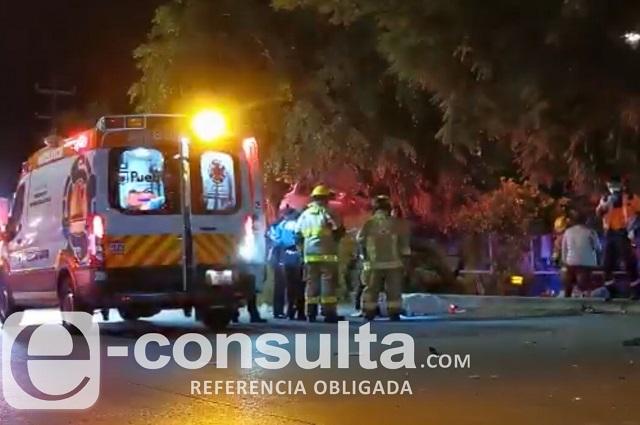 Muere motociclista arrollado por un Mazda, en Satélite