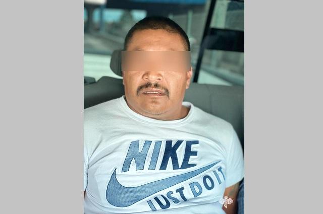 Capturan en Nopalucan a líder delincuencial en 7 municipios
