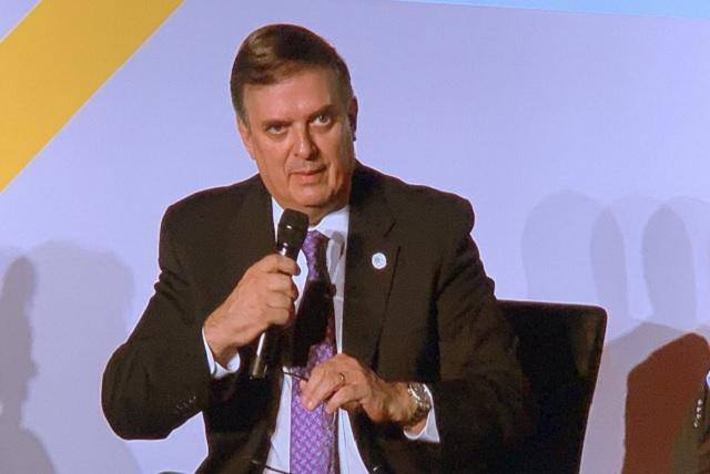 México ya dialoga con EU sobre cárteles y terrorismo, dice Ebrard