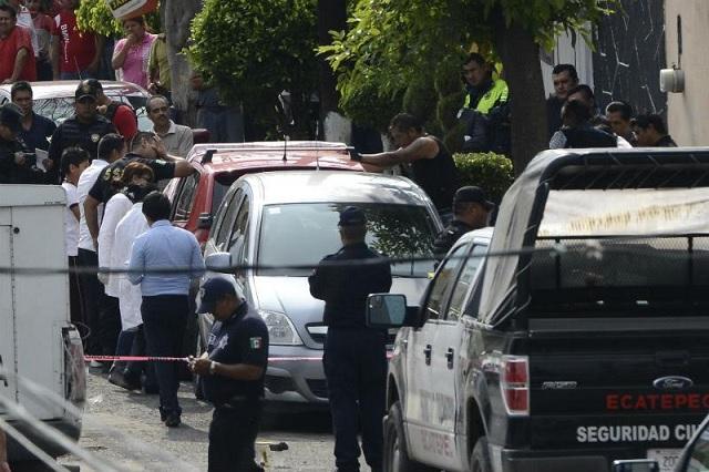 En aparente robo, matan en Ecatepec a 3 personas en su domicilio