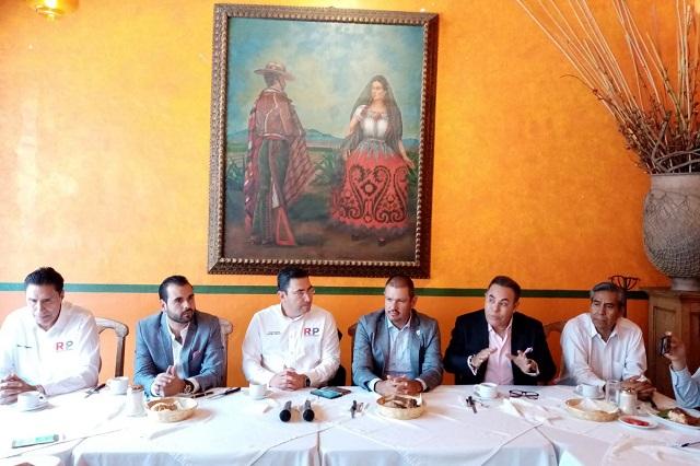 También exmarinistas entran a partido de Elba Esther en Puebla