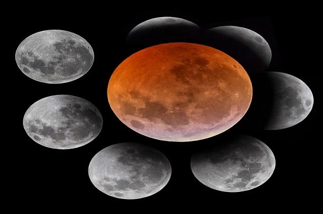 ¿A qué hora sucederá el eclipse total de superluna en México?