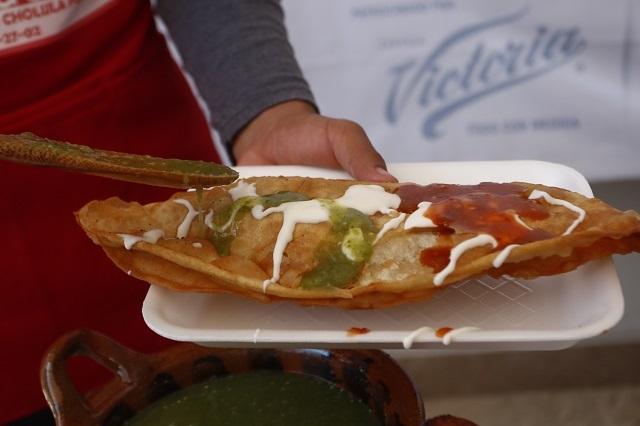 Invitan a llevar plato y vaso a la Feria del Molote en Cholula