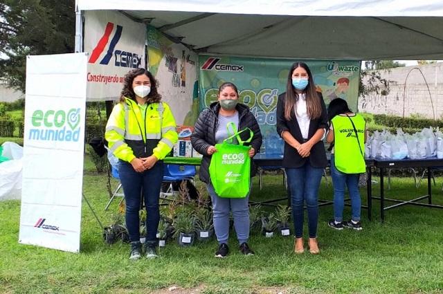 CEMEX fomenta cultura de reciclaje en Tecali de Herrera