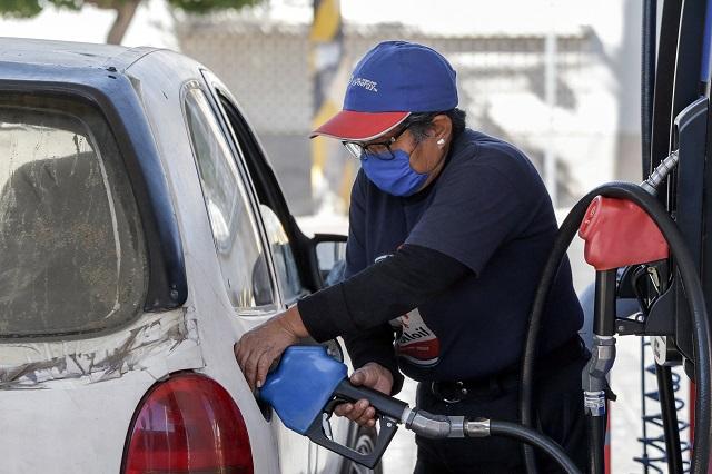 Llega hasta a 20.39 pesos litro de gasolina en Puebla este 2021