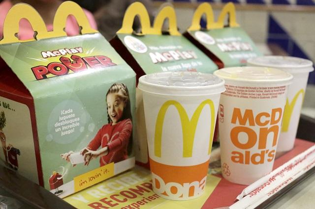 McDonald's crea una hamburguesa hecha de plantas