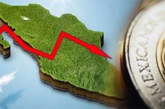 Por primera vez en 3 años, la economía retrocede 0.2 por ciento