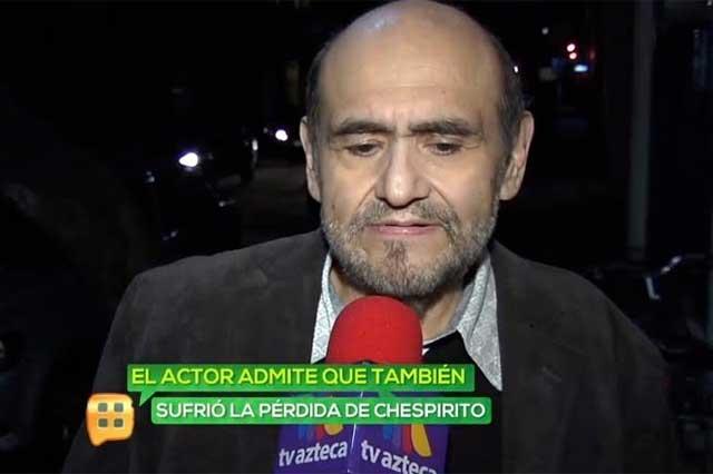 Confirma Edgar Vivar que Florinda Meza sufre depresión