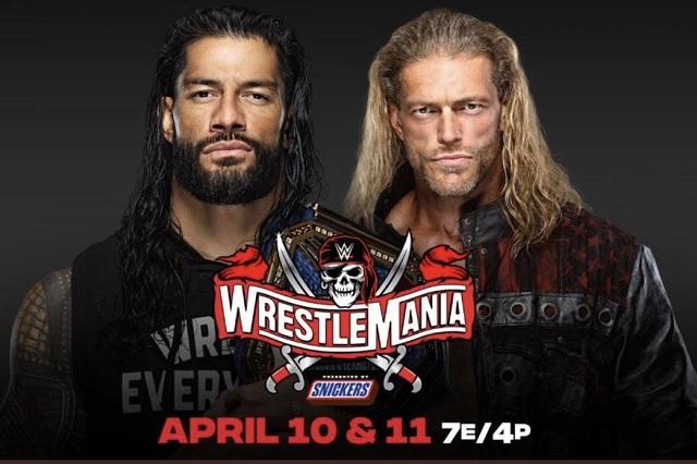 Edge y Roman Reigns serán los protagonistas del Wrestlemania 37