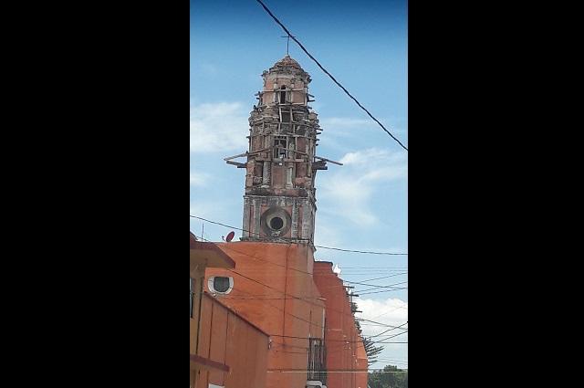 Inicia reconstrucción de edificios históricos en Atlixco