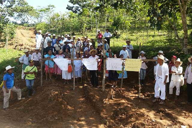 Edil de Olintla amenaza con cárcel a indígenas opositores a proyecto hídrico
