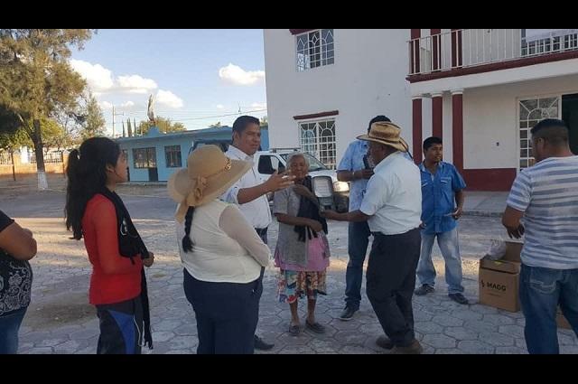Rechaza el alcalde de Molcaxac que cobre un súper sueldo